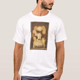 T-shirt Photographie d'esprit des fantômes entourant une