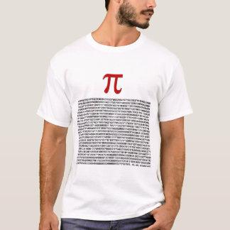 T-shirt Pi = 3,141592653589 etc. etc… quoi que !