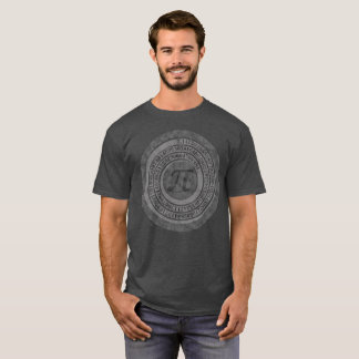 T-shirt Pi affligé à 125