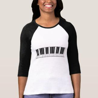 T-shirt Pianiste de bande de musicien de musique de