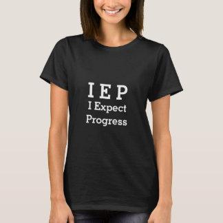 T-shirt PIE I s'attendent au progrès