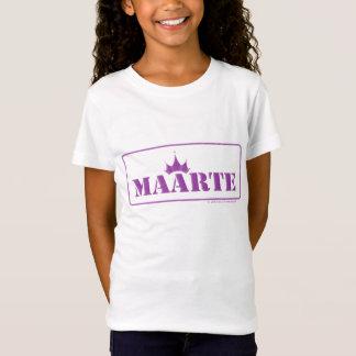 T-Shirt pièce en t adaptée par fille de la jeunesse de