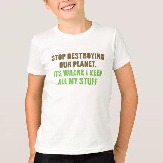T-shirt Pièce en t amicale de planète