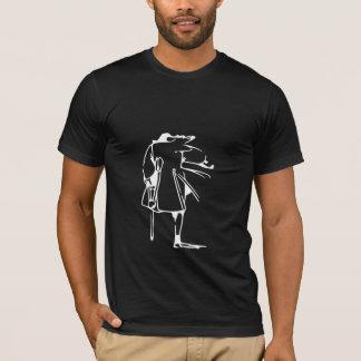 T-shirt Pièce en t argentée de John