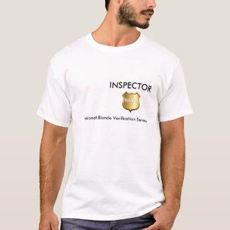 T-shirt Pièce en t blonde d'inspecteur d'amusement