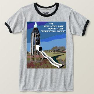 T-shirt Pièce en t classique de glissière de Rocket