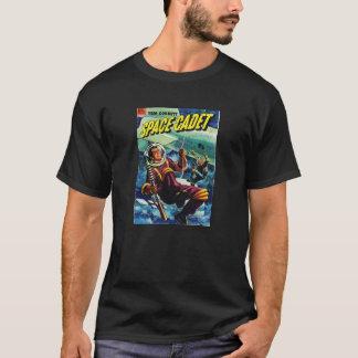 T-shirt Pièce en t comique de pulpe de SciFi