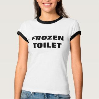 T-shirt Pièce en t congelée de penny de toilette