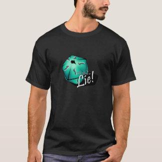 T-shirt Pièce en t critique de victoire - Teal