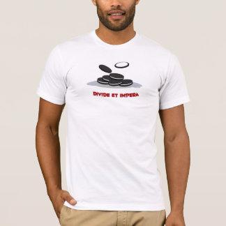 T-shirt Pièce en t d'adulte de clivage et d'Impera