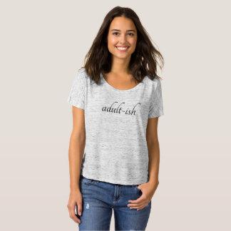 T-shirt Pièce en t d'ami d'Adulte-ish