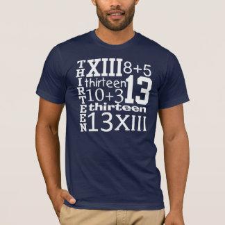T-shirt PIÈCE EN T d'anniversaire de GRAPHIQUE de