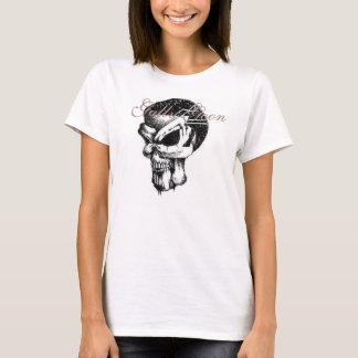 T-shirt Pièce en t de Babydoll de crétin de caniveau