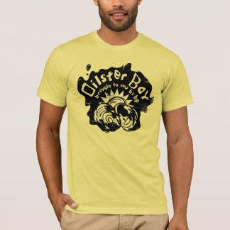 T-shirt Pièce en t de baie d'Oilster (baie d'huître)