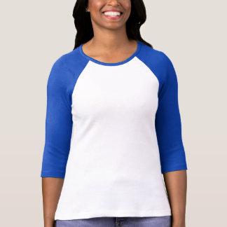 T-shirt Pièce en t de base-ball de Verseau