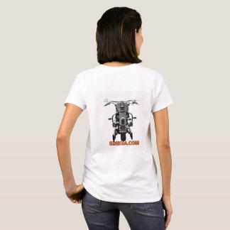 T-shirt Pièce en t de base de dames de SDHCOA