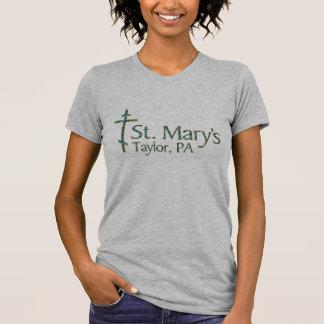 T-shirt Pièce en t de base de Taylor de Mary de saint