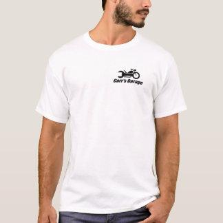 T-shirt Pièce en t de base du garage de Carr - couleurs
