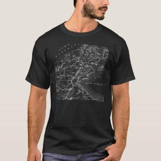 T-shirt Pièce en t de carte d'îles d'apôtre