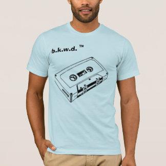 T-shirt pièce en t de cassette du menz b.k.w.d.