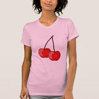 T-shirt pièce en t de cerise
