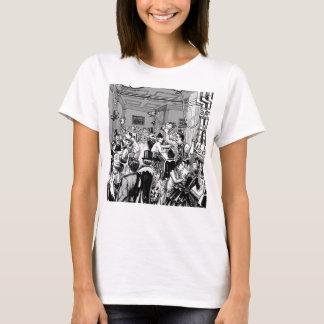 T-shirt Pièce en t de Chambre de bière anglaise de ville