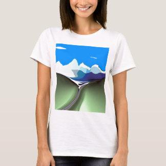 T-shirt Pièce en t de clivage de Dallas