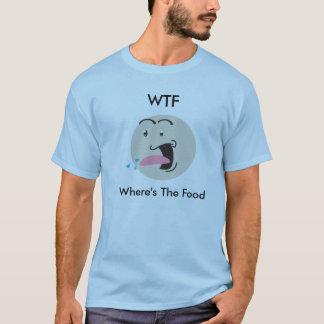 T-shirt Pièce en t de comédie de WTF (wheres la