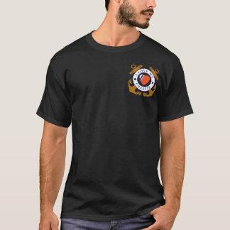 T-shirt Pièce en t de conception d'hélicoptère d'art déco