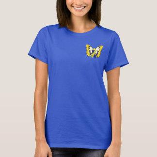 T-shirt Pièce en t de conscience de syndrome de Down