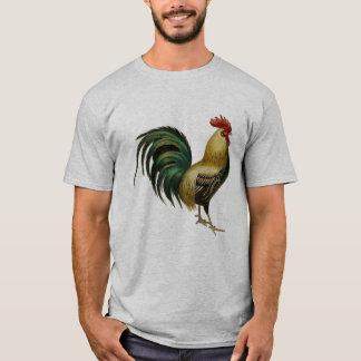 T-shirt Pièce en t de coq pour l'aficionado ancien de coq