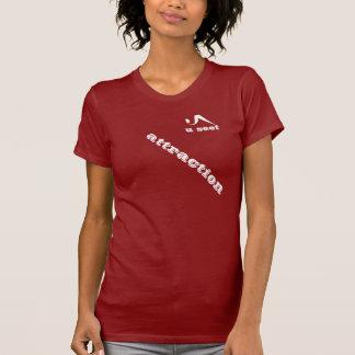 T-shirt Pièce en t de dames d'attraction d'Useet petite