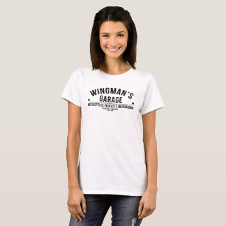 """T-shirt Pièce en t de dames """"de Moto classique"""" du garage"""