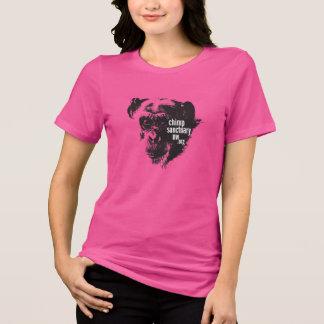 T-shirt Pièce en t de dames d'encolure ras du cou avec la