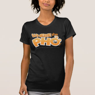 T-shirt pièce en t de dames Twofer de WhereThePho.com