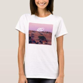 T-shirt Pièce en t de désert de Dirtbag d'Américain de