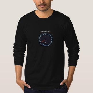"""T-shirt Pièce en t de douille d'argent de """"lutte"""" de"""