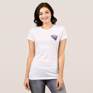 T-shirt Pièce en t de favori de coeurs