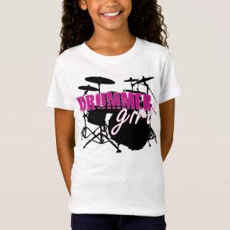 T-Shirt Pièce en t de fille de batteur