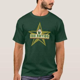T-shirt Pièce en t de fonctionnaire d'EGGNation des hommes