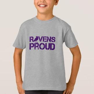 T-shirt Pièce en t de football de Baltimore de Fanpower