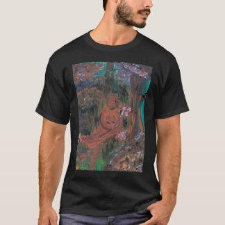 """T-shirt Pièce en t de """"forêt"""" (acrylique)"""