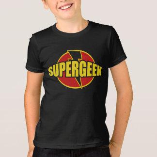 T-shirt PIÈCE EN T de graphique de l'amusement SUPERGEEK