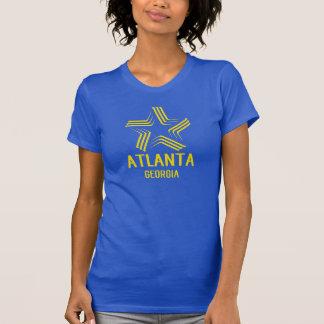 T-shirt Pièce en t de GRAPHIQUE d'ÉTOILE d'ATLANTA LA