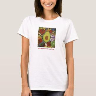 T-shirt Pièce en t de guacamole