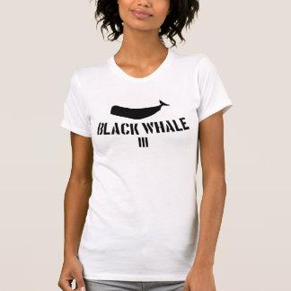 T-shirt Pièce en t de la baleine noire III pour le