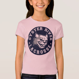 T-shirt Pièce en t de lacrosse de l'ORYA des filles