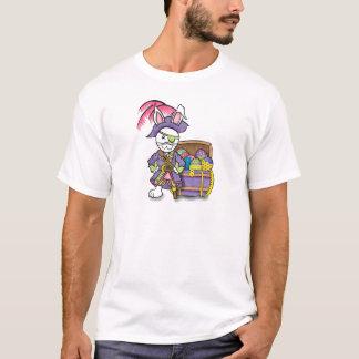 T-shirt Pièce en t de lapin de pirate