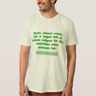 T-shirt Pièce en t de Letteres de dénoyauteur