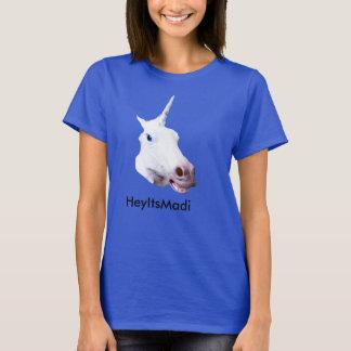 T-shirt Pièce en t de licorne de HeyItsMadi Wemons